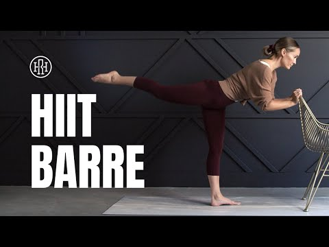 HIIT BARRE Workout // Fusion Workout