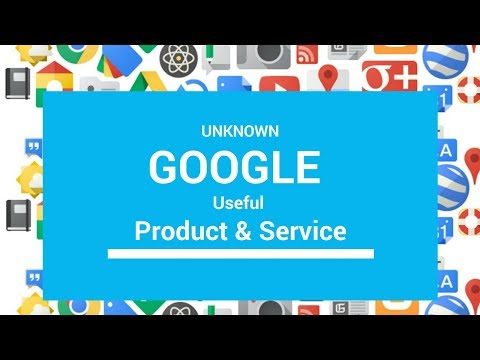 7 Little known useful Google products & services | Unknown google product & services | Lecolors