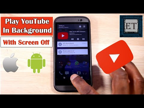 Play YouTube in Background With Screen Off – No Additional App Needed (Android & iOS) | 2019