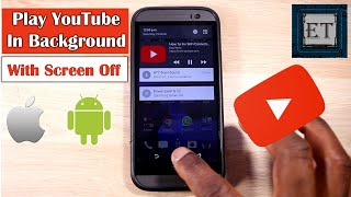 Play YouTube in Background With Screen Off – No Additional App Needed (Android & iOS)