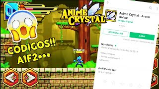 Download do Anime Crystal!+Códigos!!!