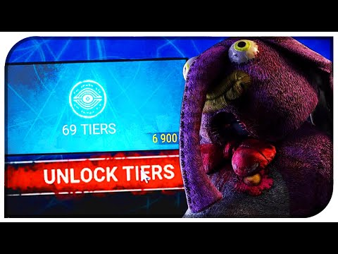 Unlocking All 70 Tiers of The Archives! - Dead By Daylight Tome II Completed! (DBD Tome II Level 70)
