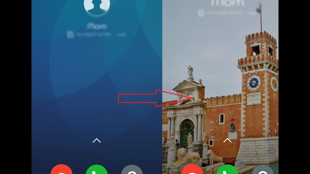 How To Change Incoming/Outgoing Call Background Wallpaper in MIUI 9/MIUI 10  || Without Root