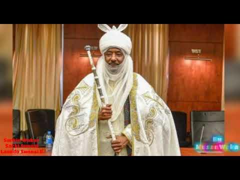 Download Sarkin Waka naziru yayi Sabuwar wakar Sarkin kano na 14 Khalifa Muhammad Sanusi II