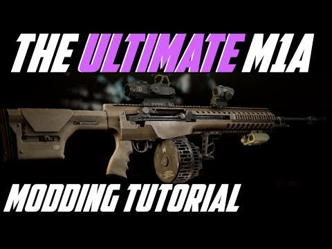 The Ultimate M1A Build, M1A My Way   Escape From Tarkov