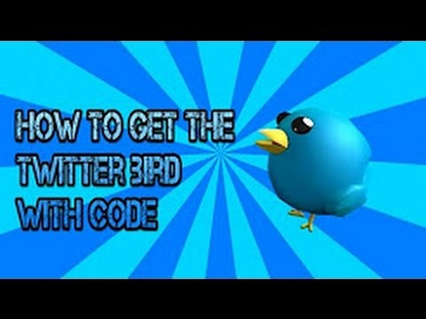roblox twitter bird promo code