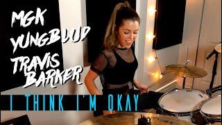 Machine Gun Kelly, YUNGBLUD & Travis Barker - I Think I'm OKAY | DRUM COVER Domino Santantonio