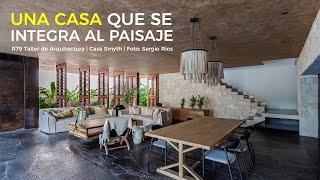 Una CASA que se INTEGRA** al PAISAJE  | R79 Taller de Arquitectura