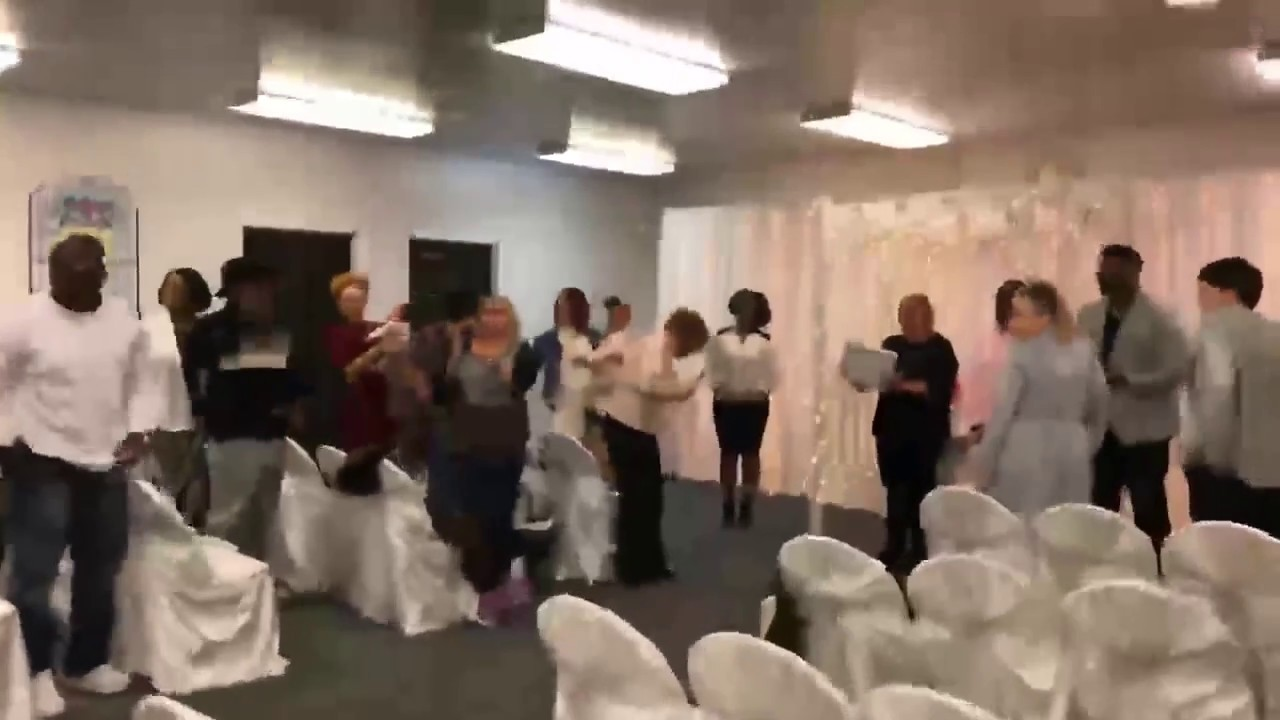 WEDDING GOT CRASHED BY DAMIEN'S DAD(PRANK)