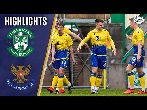 Hibernian St. Johnstone Goals And Highlights
