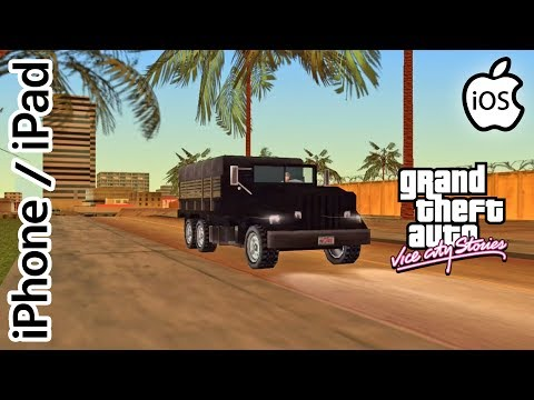 Grand Theft Auto: Vice City Stories (ISSUES) | PPSSPP Emulator IPhone / IPad / IOS 1080p Sony PSP