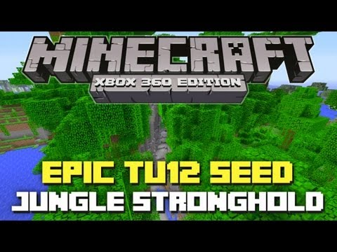 Minecraft Xbox 360: Epic TU12 Seed - Jungle Stronghold! (TU12 Seed Showcase)