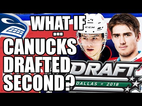 """Vancouver Canucks """"What If…"""": The Canucks Drafted 2nd Overall @ 2018 NHL Draft? (Svechnikov, Zadina)"""