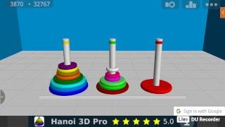 (Soy un fracaso universal) Torres de Hanoi de 15 anillos c: