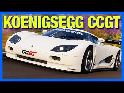 Forza Horizon 4 : Koenigsegg's Lost Car… (FH4 Koenigsegg CCGT)