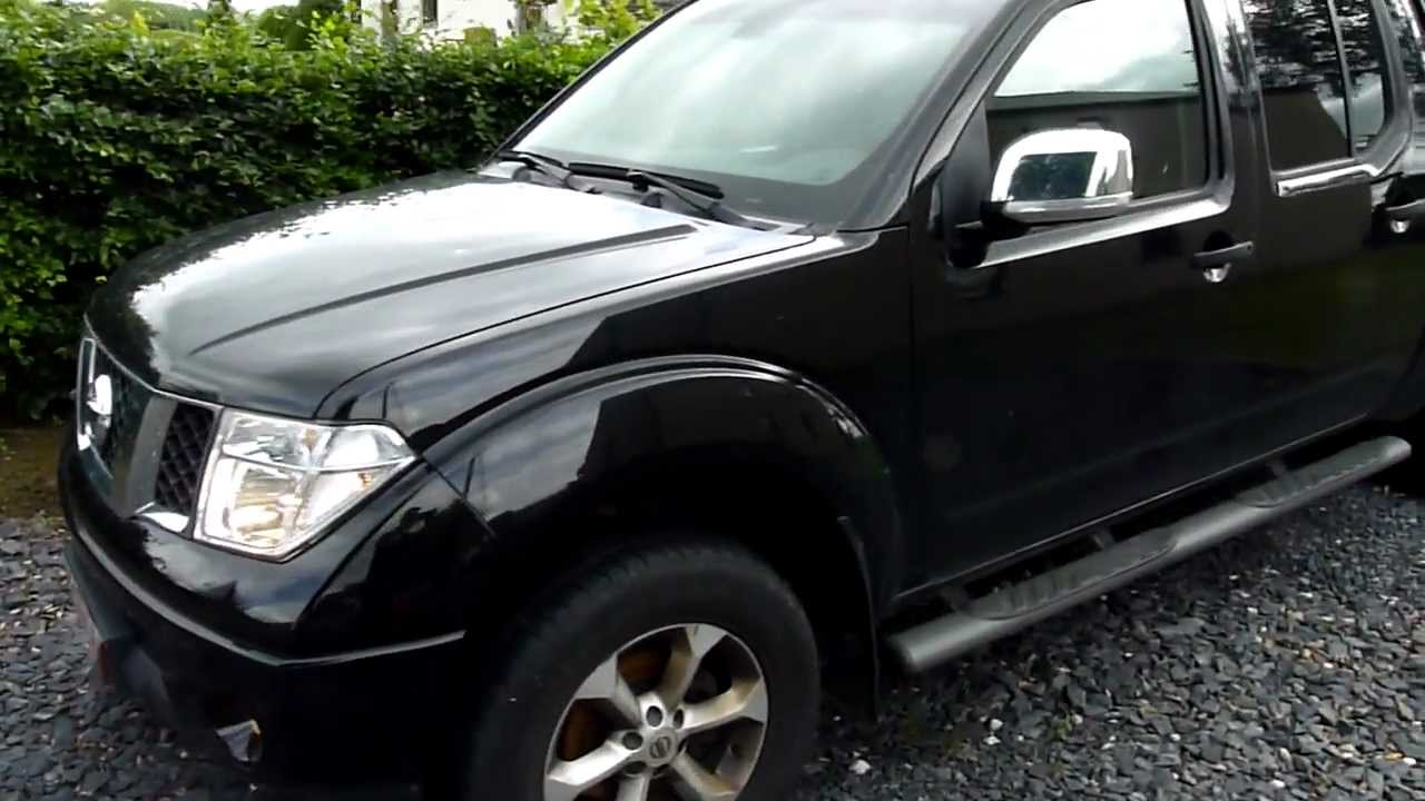 pick up nissan navara 4x4 2 5 dci 175 cv doucle cab hard top 2008 youtube. Black Bedroom Furniture Sets. Home Design Ideas