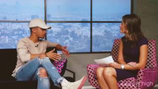 Jordan Fisher Answers Fan Questions at Sweety High
