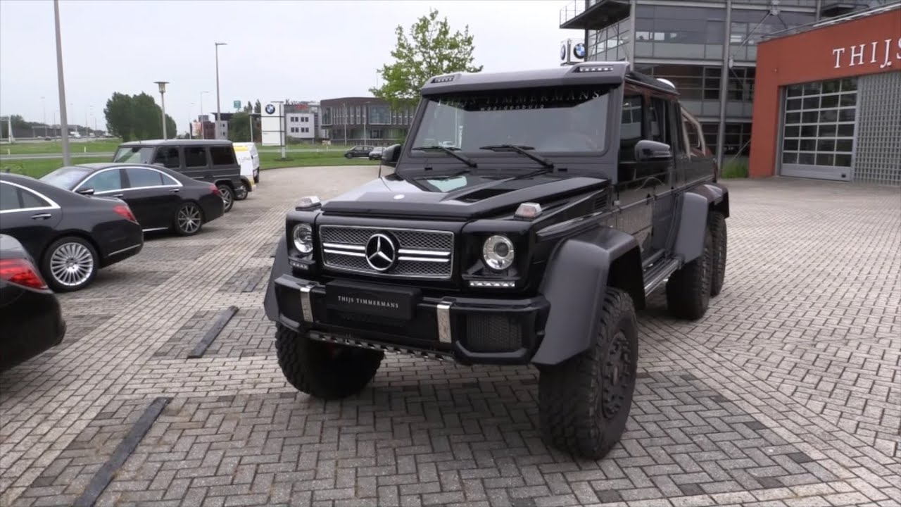 Image gallery 2016 amg 6x6 for Mercedes benz g63 6x6 for sale