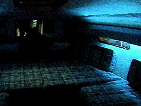 Boat Interior Cabin With LED Lights   YouTube