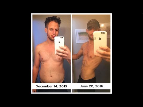 My 6 Month Body Transformation From Fat To Fit (Step By Step