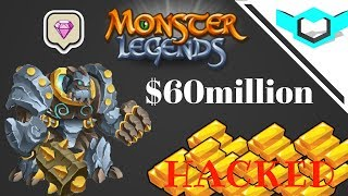 Monster Legends Hack - ADD 60M Gold. Solve Server Error 100% Working