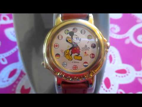 Lorus Mickey Mouse Musical Watch 2