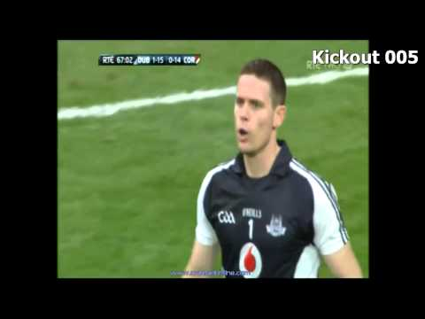 Video Analysis of Dublin kickouts - 2013 All Ireland SFC Quarter and Semi Finals