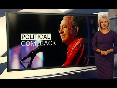 ABC News - Australian Interview with Dr Mahathir on Najib, UMNO, 1MBD & World Affair