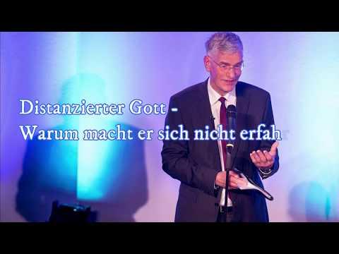 Distanzierter Gott - Warum Macht Er Sich Nicht Erfahrbar? Hans Joachim Eckstein