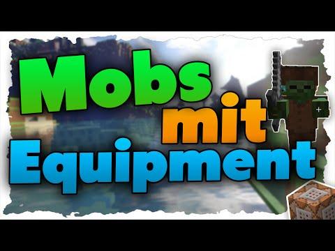 Minecraft Mobs Rüstungen Anziehen Items Geben Tutorial - Minecraft spielerkopfe geben