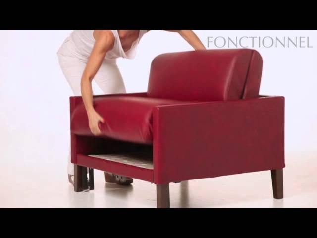 le plus petit fauteuil lit likoolis