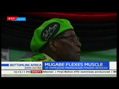 Zimbabwean president Robert Mugabe flexes muscle as he reshuffles cabinet: Bottomline Africa