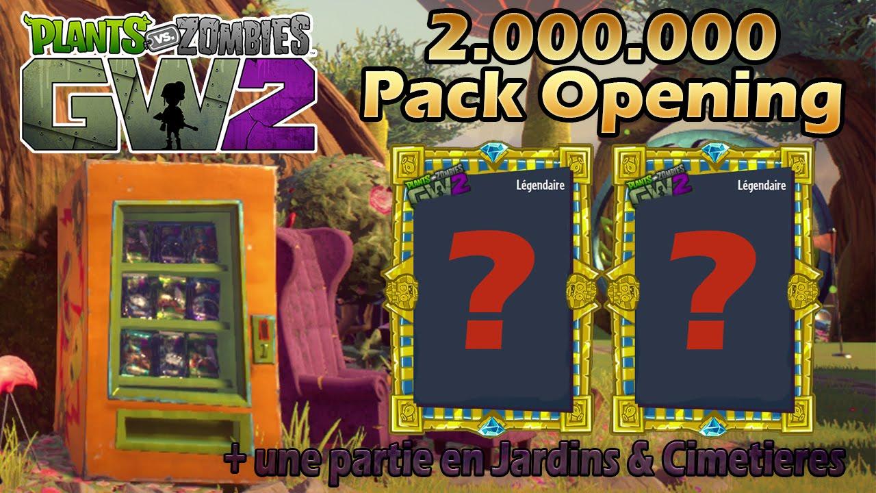 pvz garden warfare 2 fr pack opening avec du legendaire