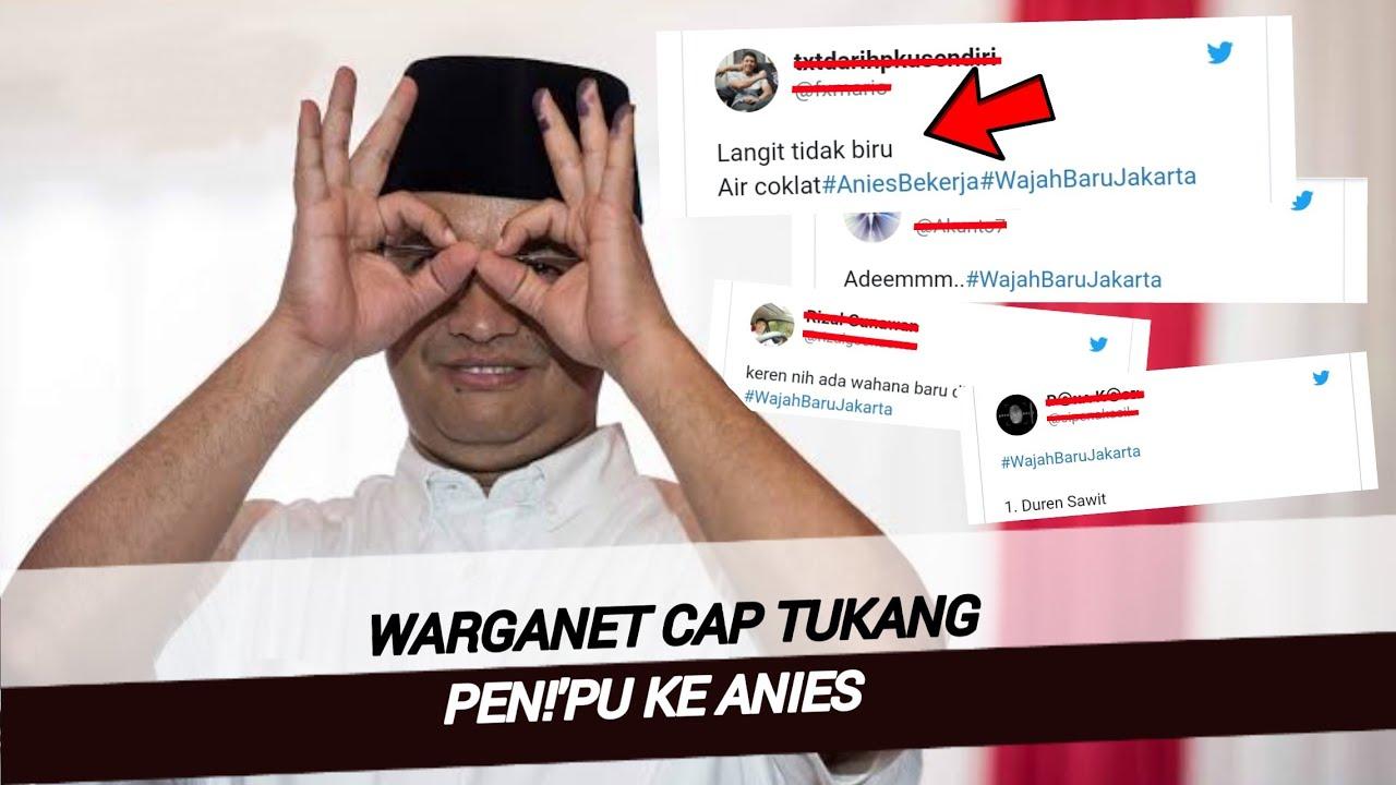 Jakarta Banjir Lagi , Netizen Paksa Turunkan Anies ...