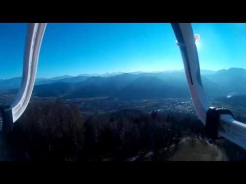 """""""Dronata"""" al """"Bulu"""" di Dronero con vista sulla pianura e sulla valle Maira"""