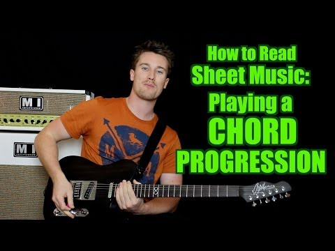 How to Read Sheet Music - Playing Chords