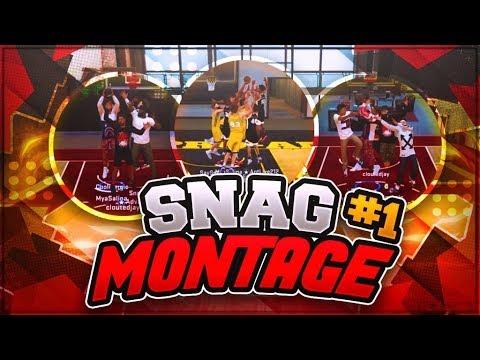 NBA 2K18 • SNAG MONTAGE #1 • BEST GIRL SNAGGER IS BACK ??🔥