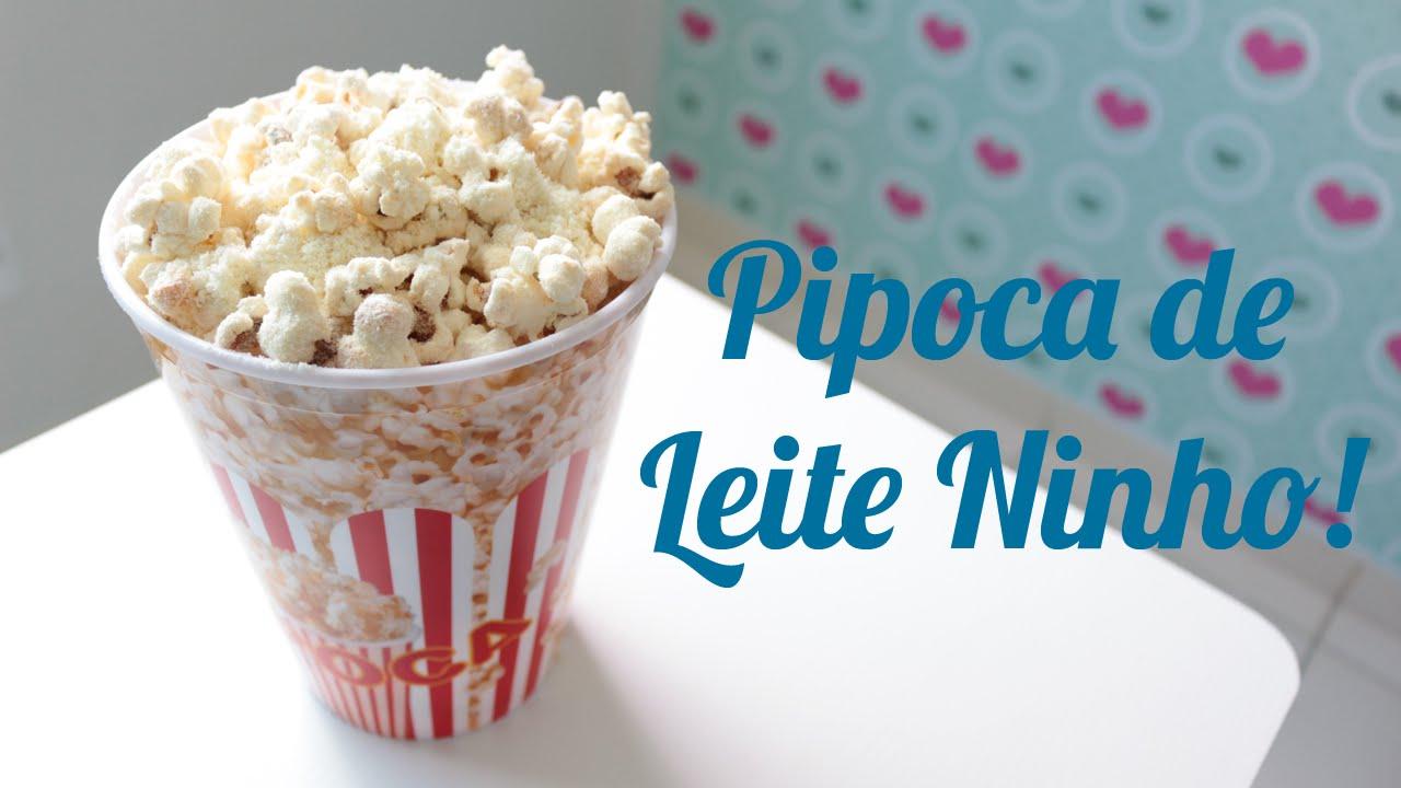 Preferência Pipoca Gourmet - Sabor Leite Ninho - YouTube EI78