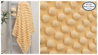 Alize Softy Plus ile Battaniye Yapımı -  Blanket with Our New Quality Alize Softy Plus