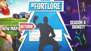 Fortnite Season X Update! *NEW* Trailer, Battlepass Skins, Free Emote!