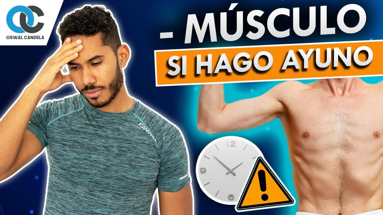 ¿Perderé masa muscular con el ayuno?