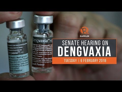 LIVE: Senate hearing on Dengvaxia, 6 February 2018