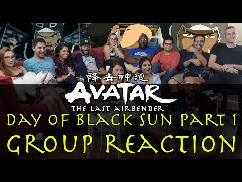 Avatar: The Last Airbender - 3x10 Day of Black Sun Part 1 - Group Reaction