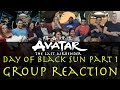 Avatar The Last Airbender 3x10 Day of Black Sun Part 1 Group Reaction