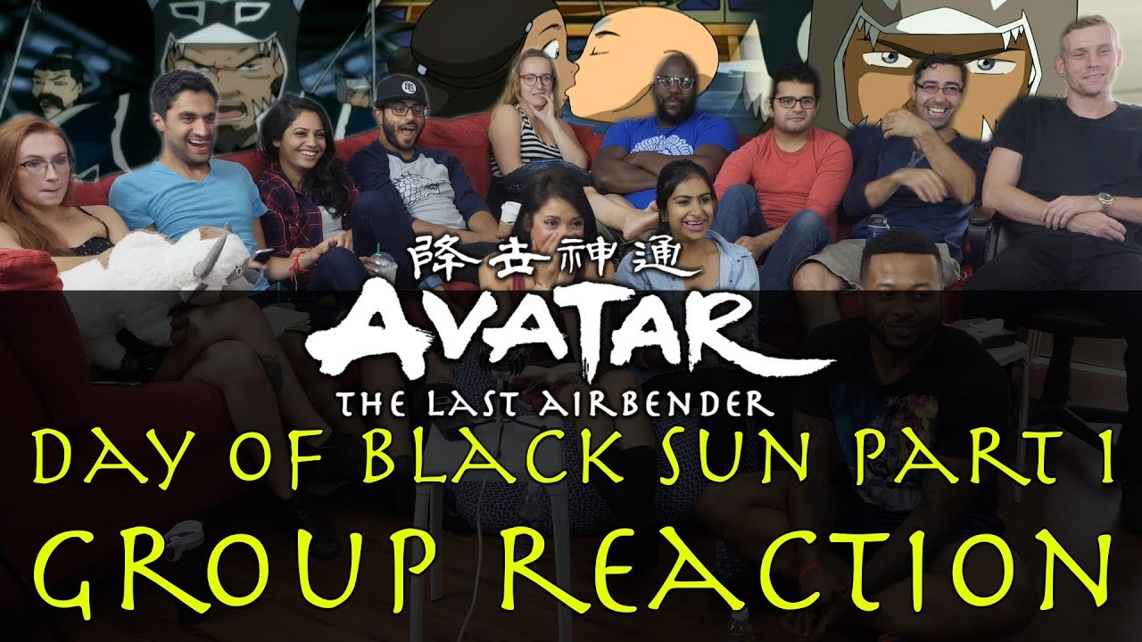 Download Avatar: The Last Airbender - 3x10 Day of Black Sun Part 1 - Group Reaction