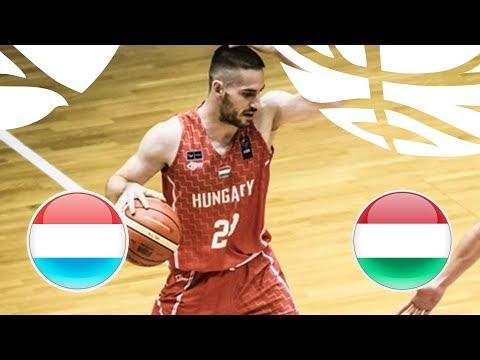 Luxembourg v Hungary - Full Game - FIBA U20 European Championship Division B 2018