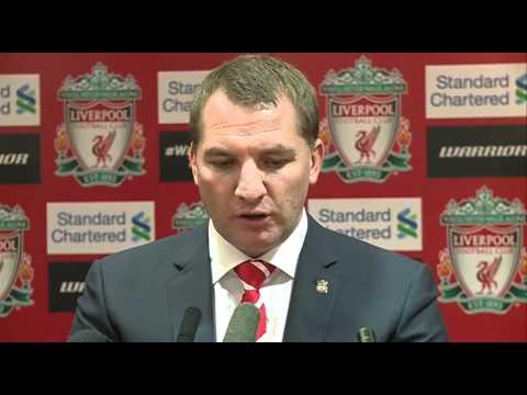 Brendan Rodgers presented as Liverpool Boss