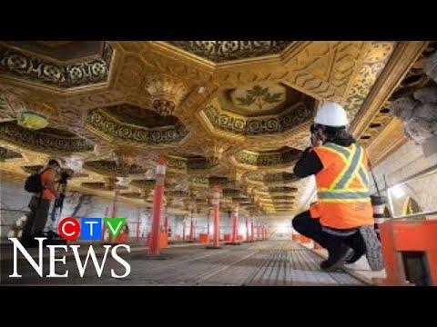 A look inside Parliament Hill's Centre Block renovations