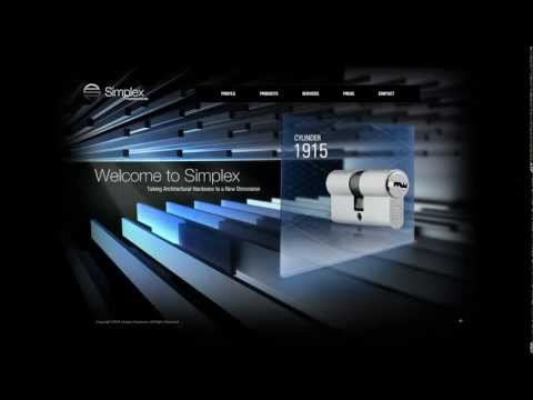 Simplex Hardware Flash Website by Xpanse CGI