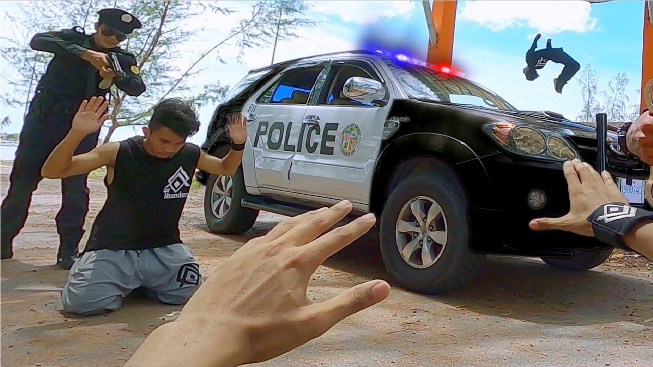 PARKOUR VS POLICE Part 2! (Official Trailer)